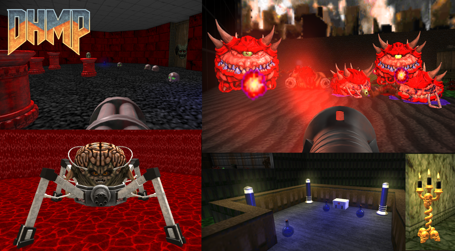 DHMP (DOOM High-res Model Project) — dengine Forums
